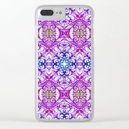 Mehndi Ethnic Style G376 Clear iPhone Case