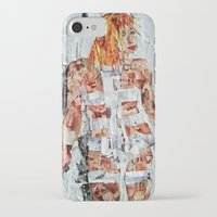 fifth element iPhone & iPod Cases featuring LEELOO THE FIFTH ELEMENT by JANUARY FROST