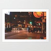atlanta Art Prints featuring Atlanta. by Sundaze Shoots