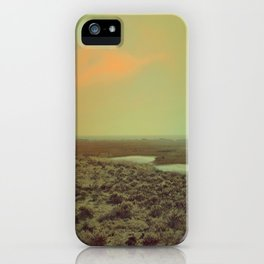 Lonely Landscape iPhone Case