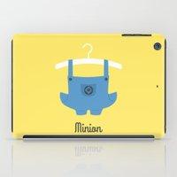 minion iPad Cases featuring Minion by Jane Mathieu