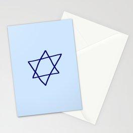 Star of David 14- Jerusalem -יְרוּשָׁלַיִם,israel,hebrew,judaism,jew,david,magen david Stationery Cards