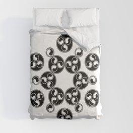 Enter the void | Sacred geometry | Alien crop circle Comforters