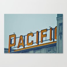 Pacific Central Canvas Print