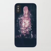 ufo iPhone & iPod Cases featuring Ufo by Marc González