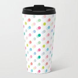 Mini Geo Hexagon Travel Mug