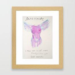 Victory of Samothrace Framed Art Print