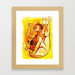 2012 she free the math Framed Art Print