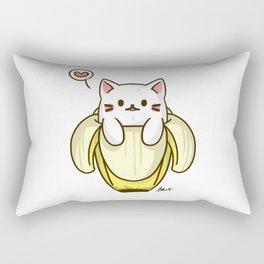 Bananya Cat Rectangular Pillow