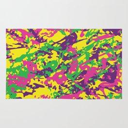 Bright Urban Camouflage Rug