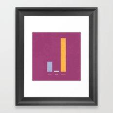 > Words Framed Art Print