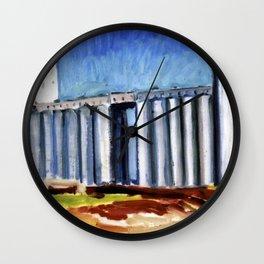 FIVE ROSES FLOUR REFINERY II Wall Clock