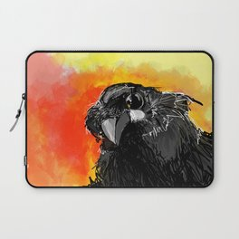 Curious Crow Laptop Sleeve