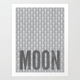 Moon Minimalist Poster Art Print
