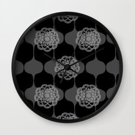 I DREAM OF GENIE - BLACK/GREY/PINK Wall Clock