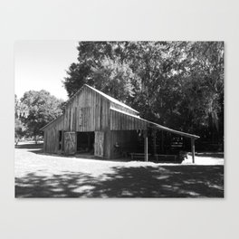 Cross Creek Barn Canvas Print