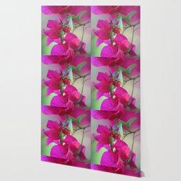 Dreamy Pink Flowers Wallpaper