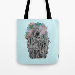 Dredlock Dog (Pastel Blue Edition) Tote Bag