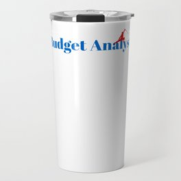 Budget Analyst Ninja in Action Travel Mug