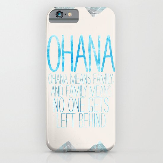 OHANA iPhone & iPod Case
