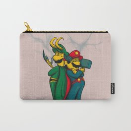 Mario and Luigi from Asgard Carry-All Pouch