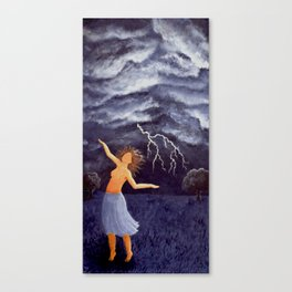 Storm Witch Canvas Print
