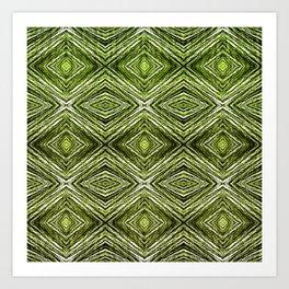 Memories of Woven Grass, Verdure Art Print