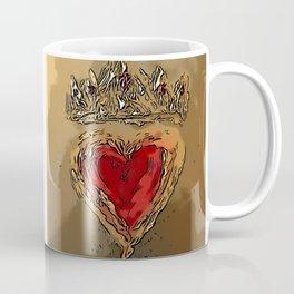 Crowned Heart Coffee Mug