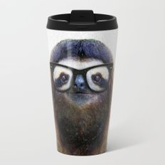 Hipster Sloth Travel Mug