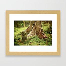 Ohara Jizo II, Kyoto Framed Art Print