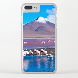 Laguna Colorada, Bolivia Clear iPhone Case