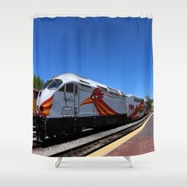 New Mexico Rail Runner Shower Curtain