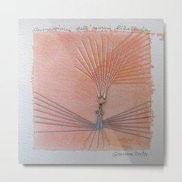 Le connessioni dell uomo libellula Metal Print
