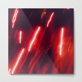 Crimson rockets Metal Print