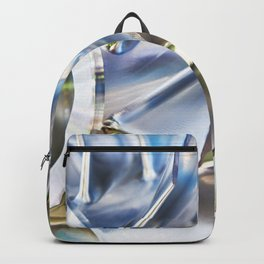 Blades of metal impeller Backpack