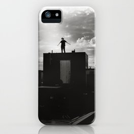 Nothing between me iPhone Case
