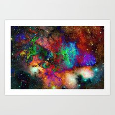 Everything is nothing 6 (therefore it was beautiful) Art Print