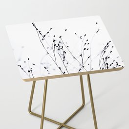 BLACK GRASS Side Table