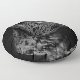 North Chinese Leopard Floor Pillow