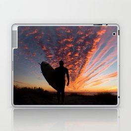 Surfer's Sky Laptop & iPad Skin
