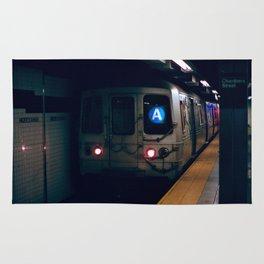 NYC Subway 35mm film Rug