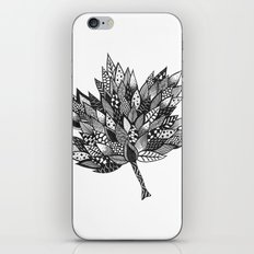 Zentangle Leaf iPhone & iPod Skin