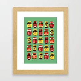 Choose Your Poison Framed Art Print