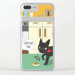 In the kitchen Clear iPhone Case