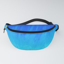 Icy Blue Blast Fanny Pack