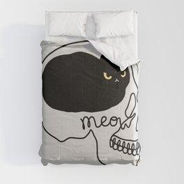 Cat Landscape 67: Cat People Comforters