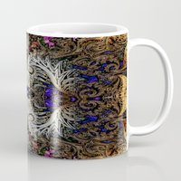 ornate Mugs featuring Ornate by RingWaveArt