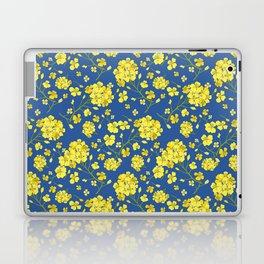 Floral Love of Mustard Laptop & iPad Skin