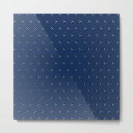 Elegant Minimalist Pattern  Metal Print