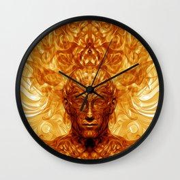 Shamannic Illumination Wall Clock